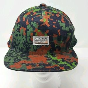 BILLABONG Garage Collection 22 Snap Back Cap Pixelated Camo MAHT3LEI